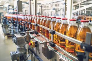 Bottles in a Food Processing Application