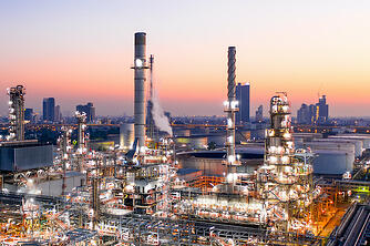 Oil Refinery Exterior