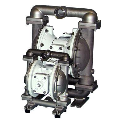 T1F and T15 metallic AODD ball valve pumps